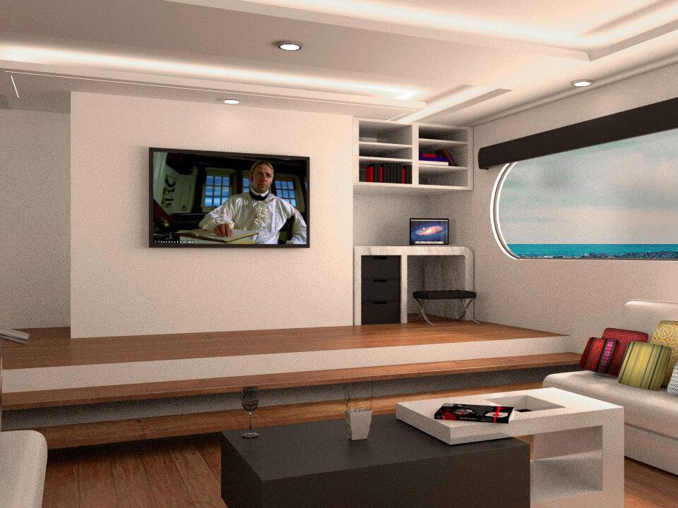 Petrel living room