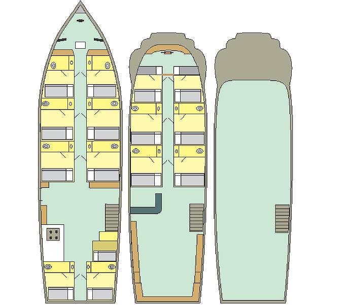 Iracema Deck Plan