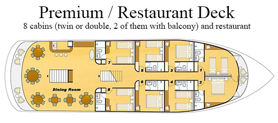 Clipper Premium restaurant deck