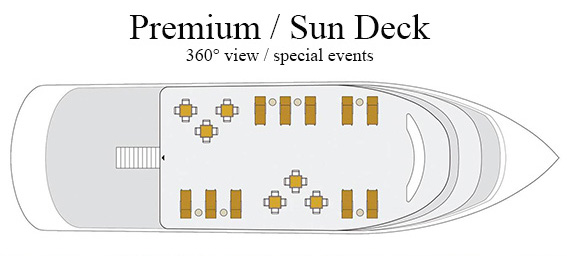 Clipper Premium sun deck