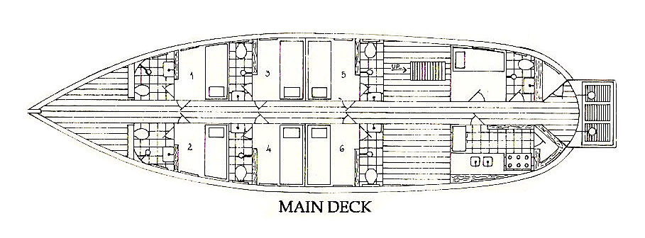 Clipper Main Deck