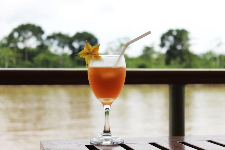 Refreshing Camu Camu juice.