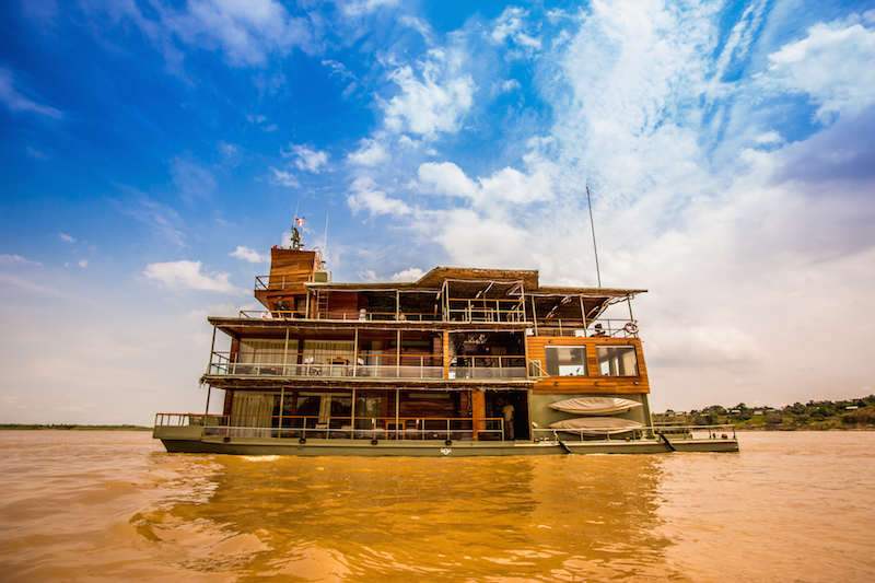 The Delfin I Amazon cruise, goes deep into the Pacaya Samiria National Reserve in Peru.