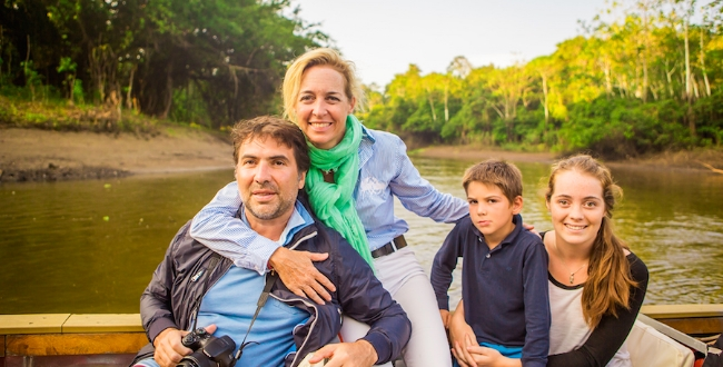 family amazon river cruises