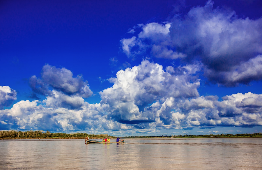 amazon river scenery