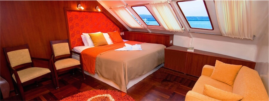 Suite on the Anahi Catamaran