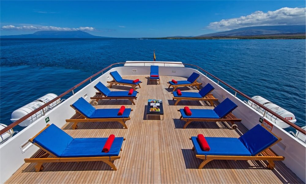 Passion Galapagos Cruise Deck