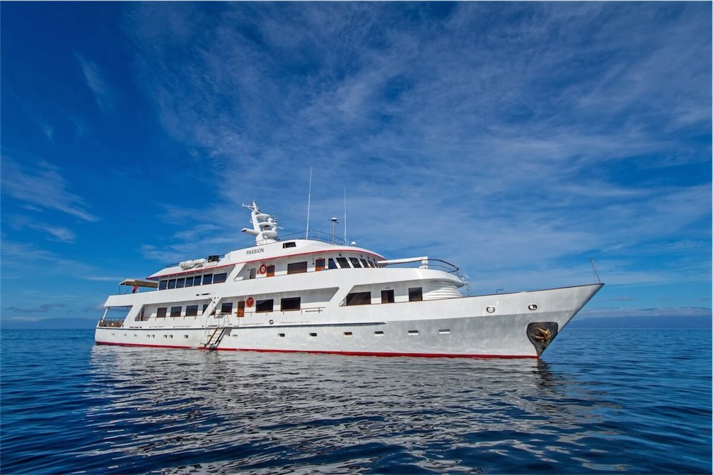 Passion Yacht Galapagos Luxury Cruise