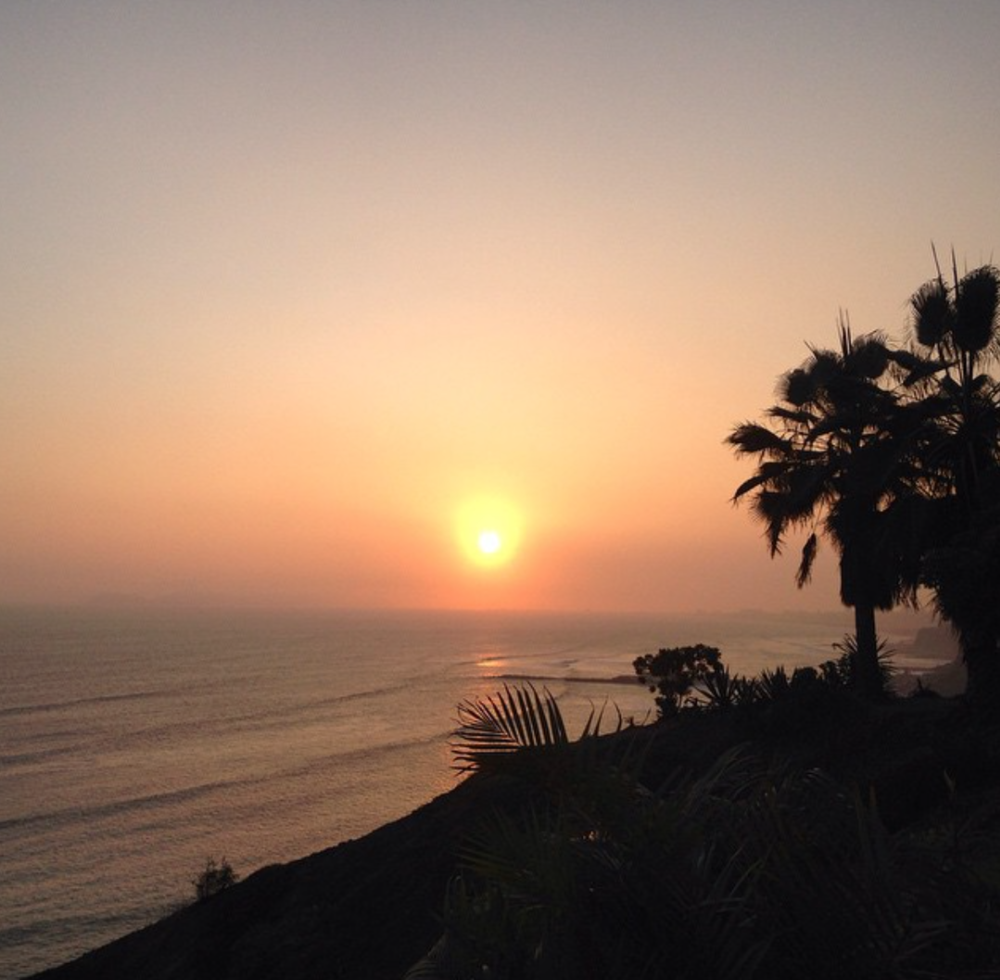 Sunset View from Barranco's Malecon