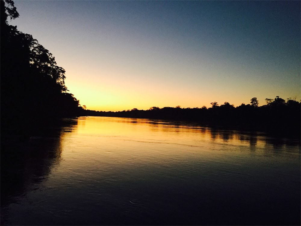 Peruvian Amazon sunset