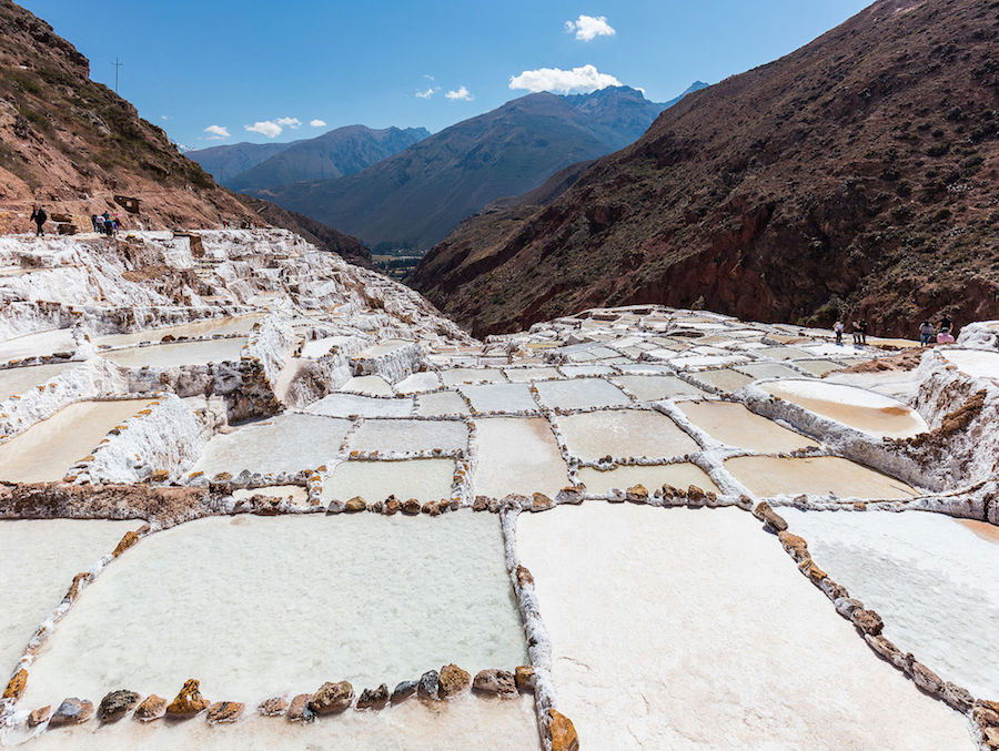 Maras Salt Mines, Sacred Valley (Ph. Wikipedia)