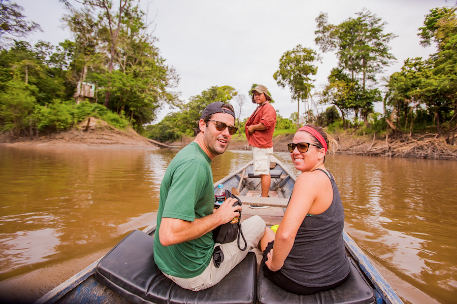 Rainforest Cruises tour in Peru.
