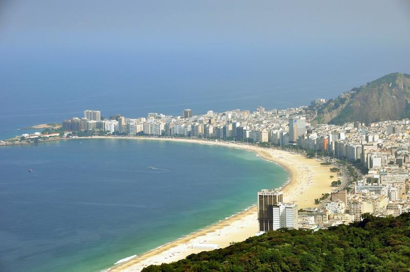 Copacabanca Beach, Rio de Janeiro
