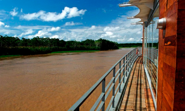 Aqua Amazon Deck