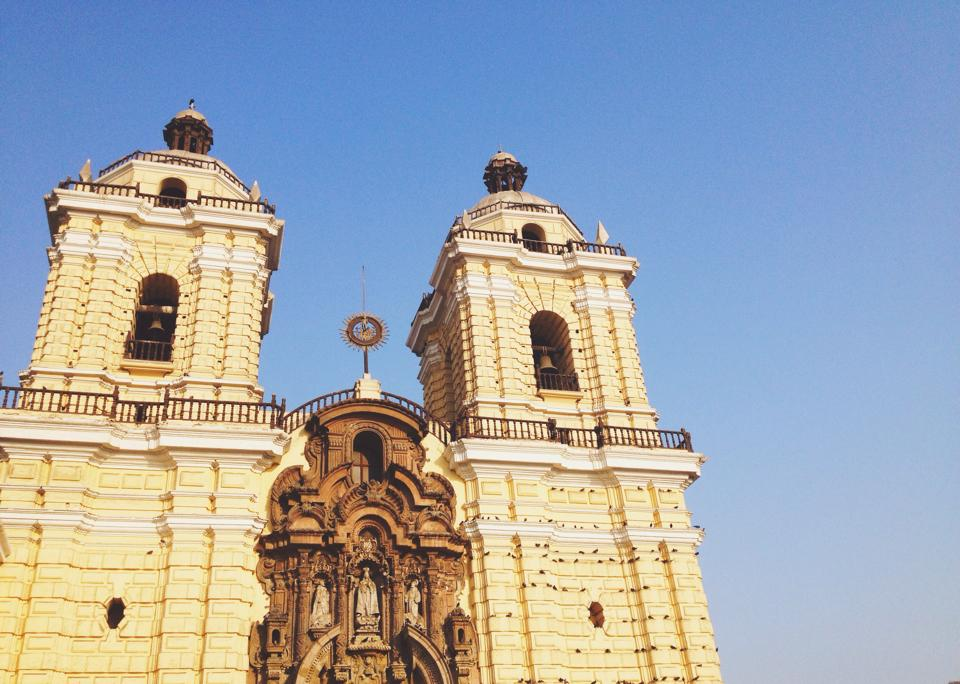 San Francisco Church in Lima's Center.