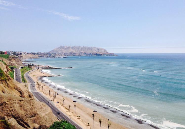 Lima Peru's Costa Verde