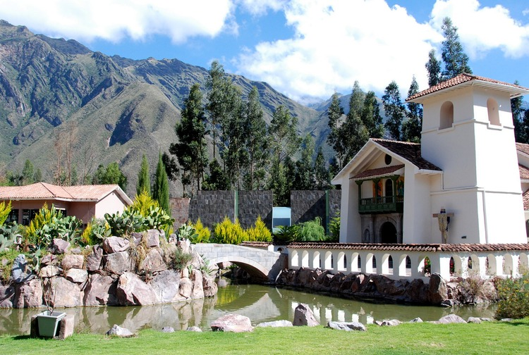 A Church in Peru's Sacred Valley.