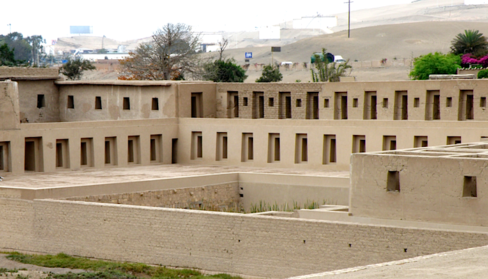 "The ""Virgin"" quarters of Pachacamac."