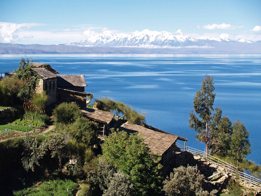 Lake Titicaca from Isla del Sol (ph. Anthony Lacoste)