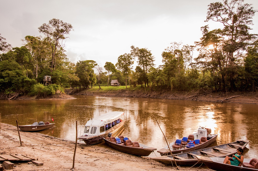 Amazon River Environment