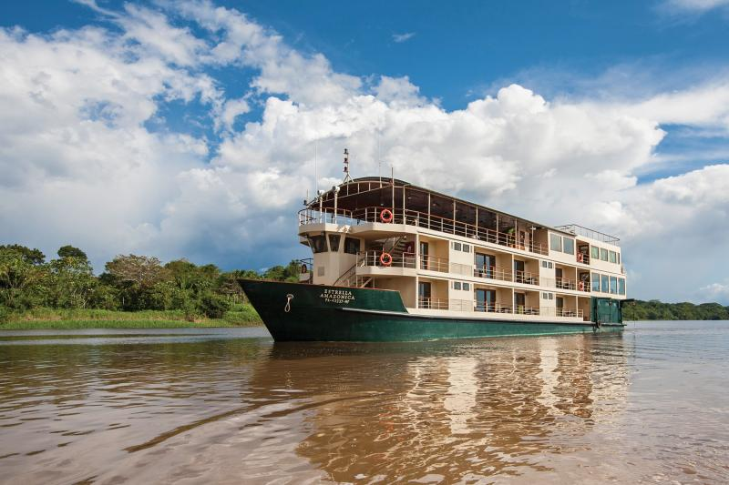 The award-winning Amazon Star 8-day cruise itinerary for less.