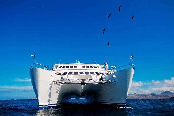 Galapagos Cruise, The Anahi Catamaran