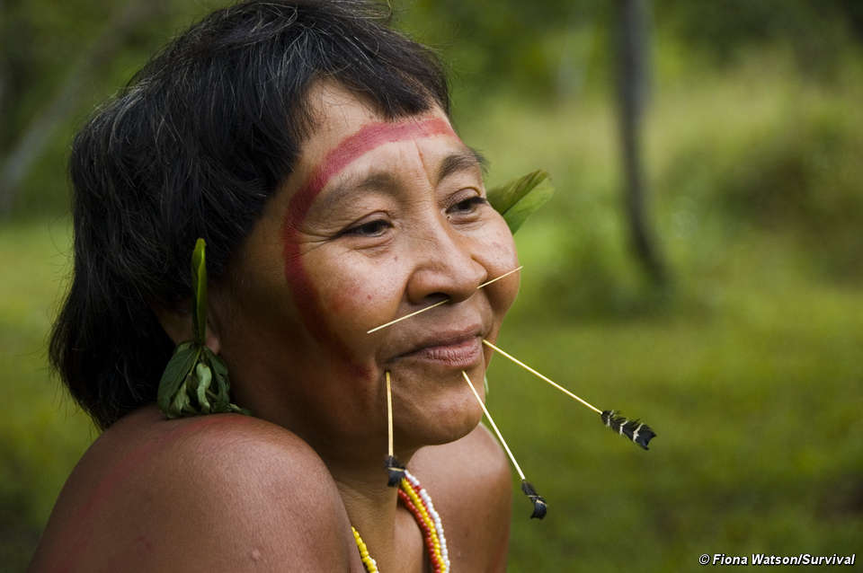 Yanomamo Tribe Face Paint