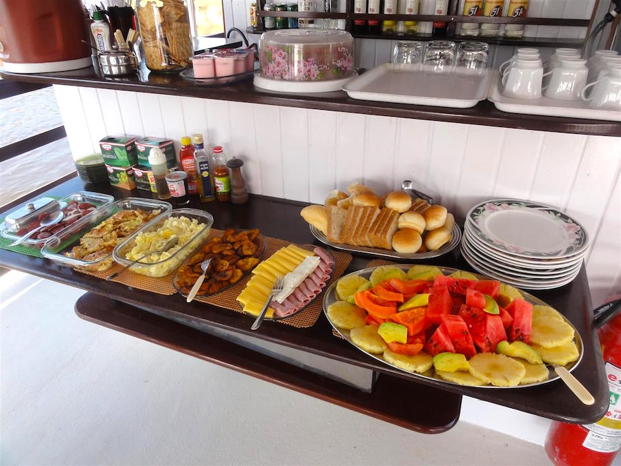 Amazon Clipper Cruise Buffet