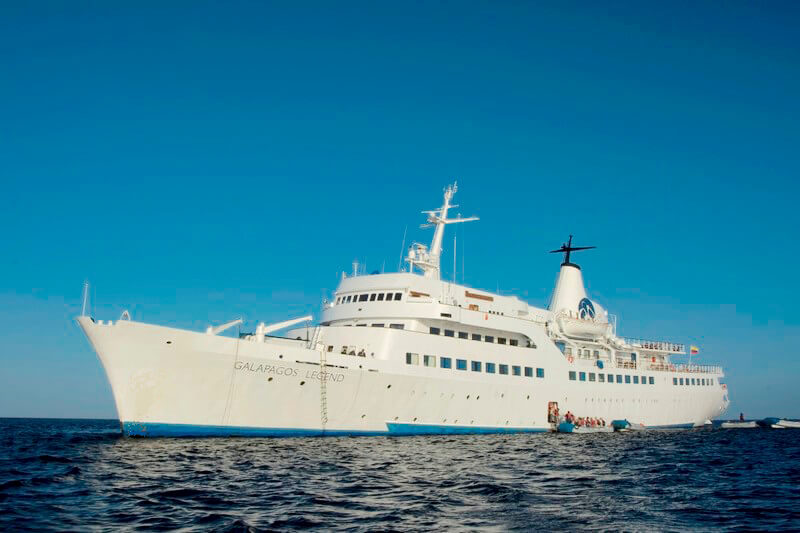 The Galapagos Legend has incredible facilities for supremely comfortable Galapagos cruising.