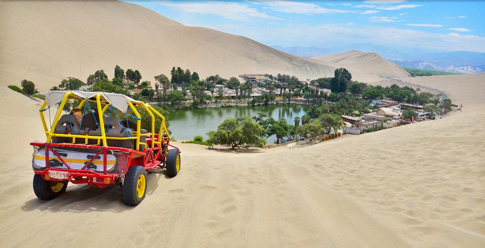Buggy Rides in Huacachina. Ph. Huacachina.com