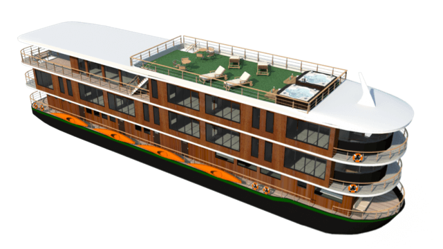 A render of what the new Manatee vessel looks like.