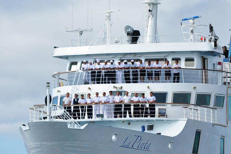 la pinta yacht galapagos cruise