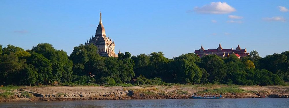 Paukan 1947 Myanmar Cruise Itinerary Day 1