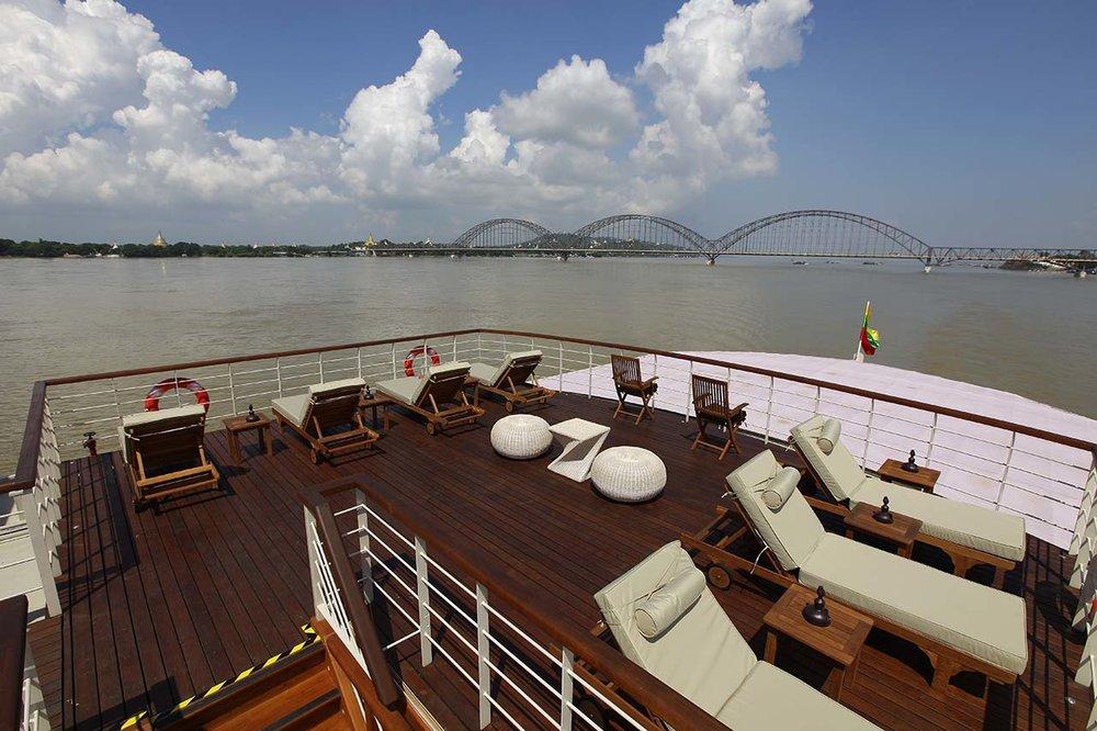 Paukan 2012 Cruise Sun Deck