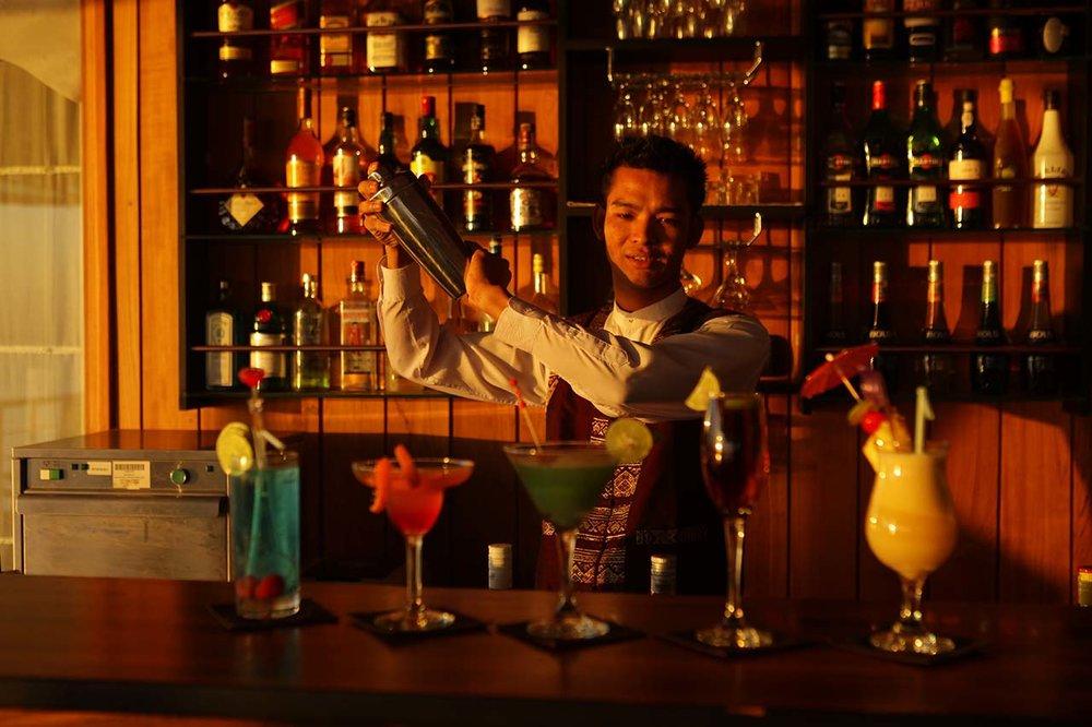 Bar onboard Paukan 2012
