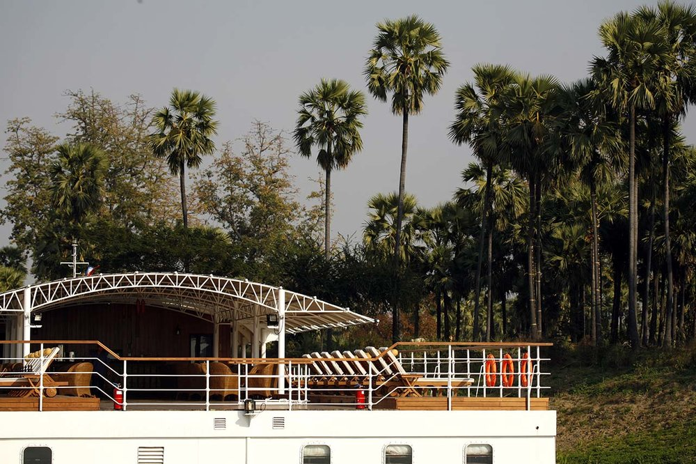 Paukan 2007 Myanmar Cruise Deck