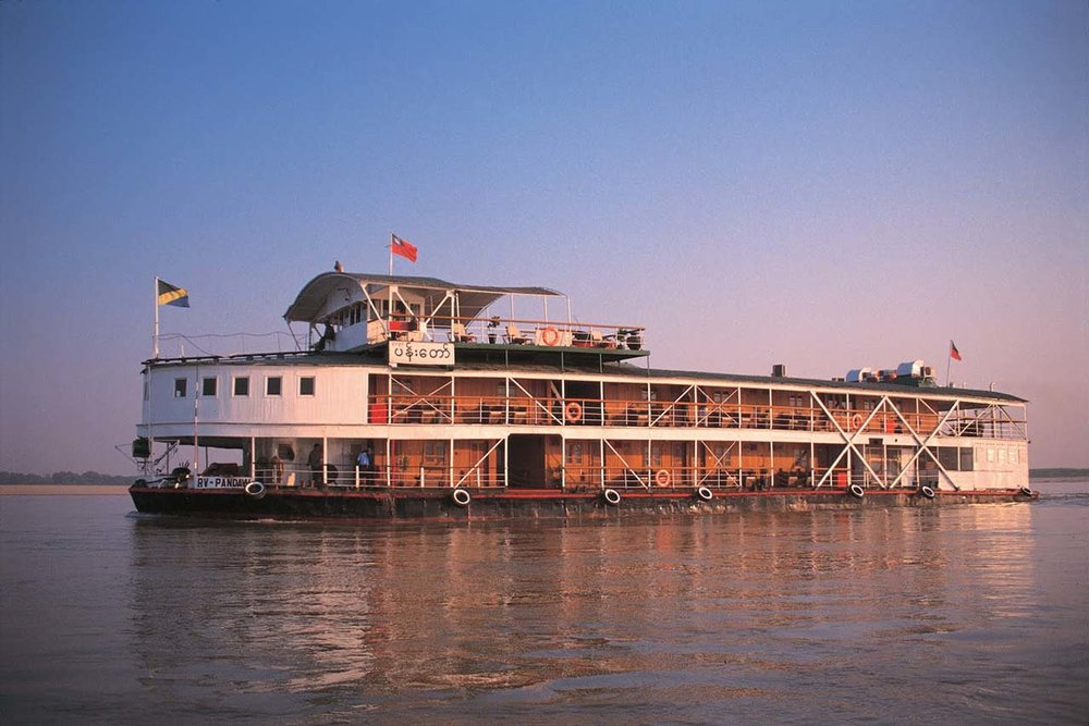 Paukan 1947 Myanmar Cruise Flights
