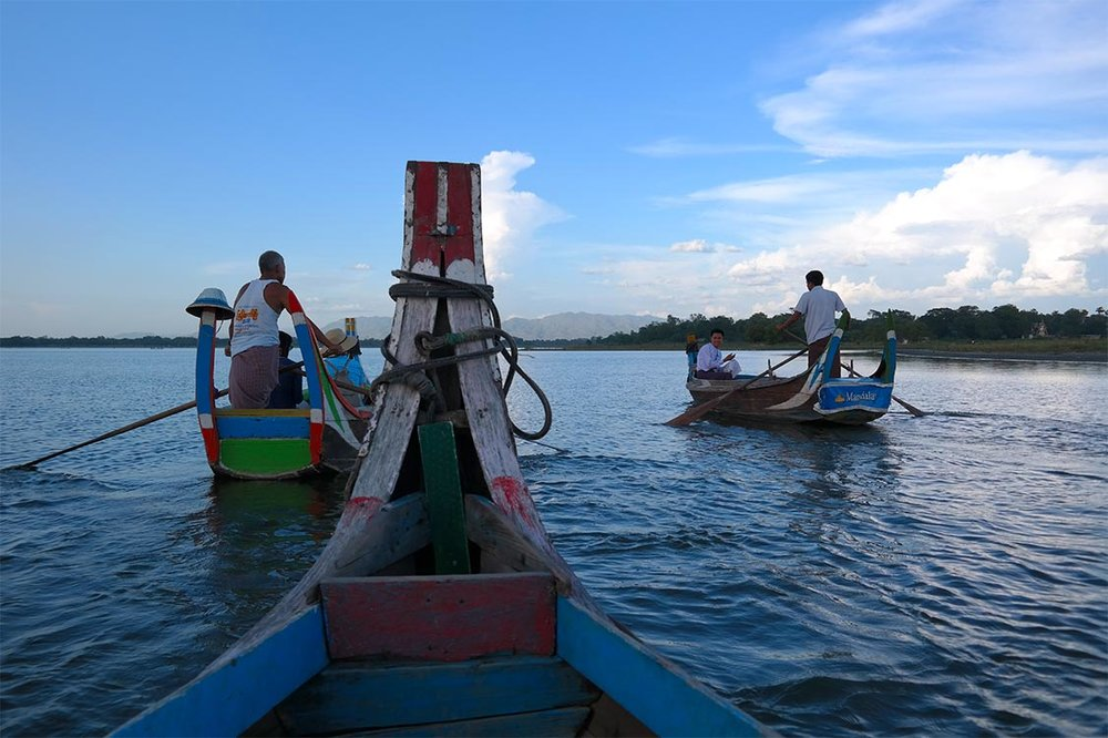 Local Boat Tour - Amarapura, Myanmar (Burma)