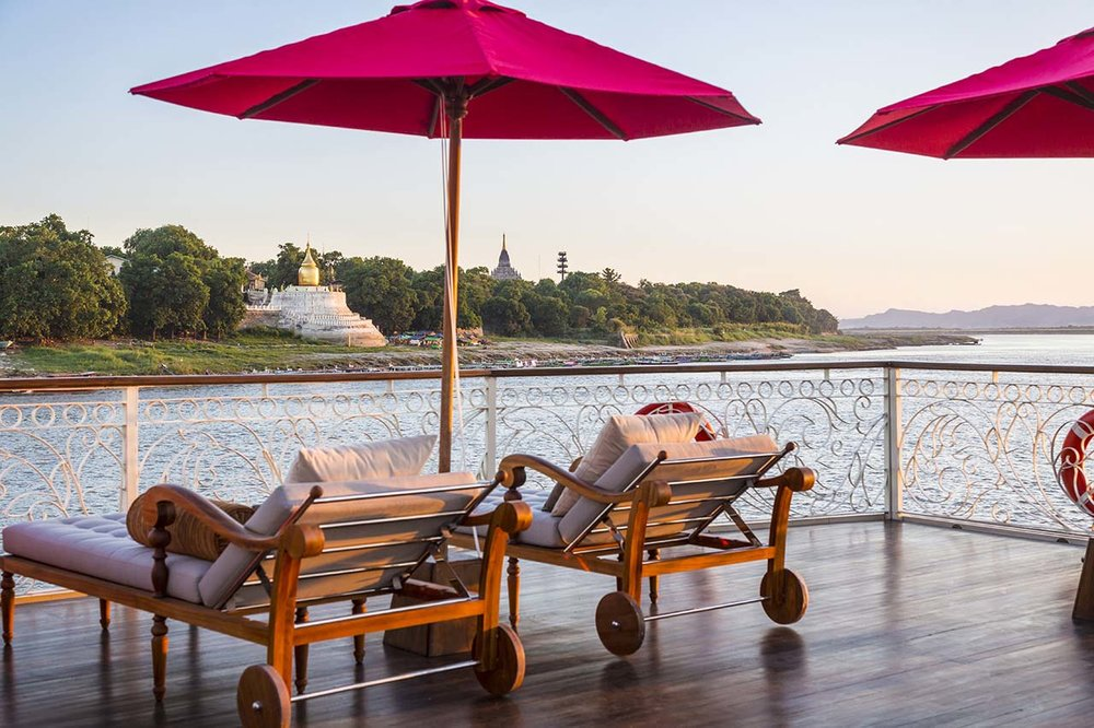 Sun Deck - Irrawaddy Explorer