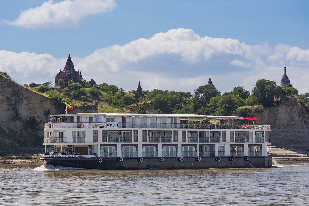 Irrawaddy Explorer - Bagan, Myanmar (Burma)
