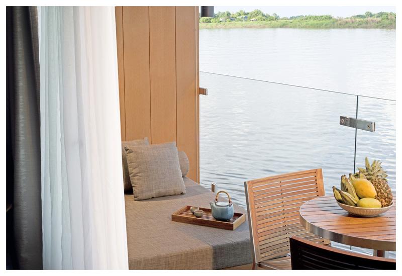 Mekong Upriver cruise itinerary