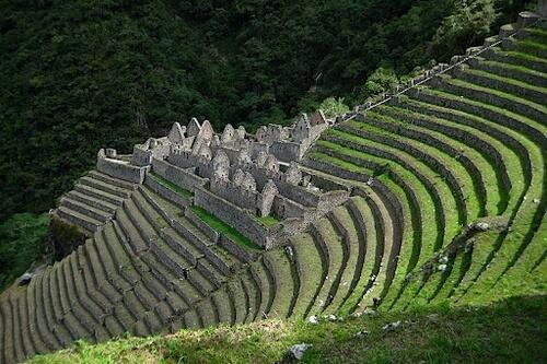 Trail to Machu Picchu