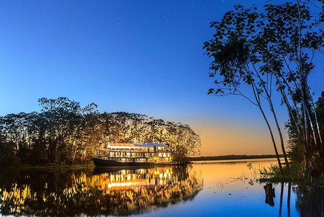 Amatista Amazon Cruise At Night