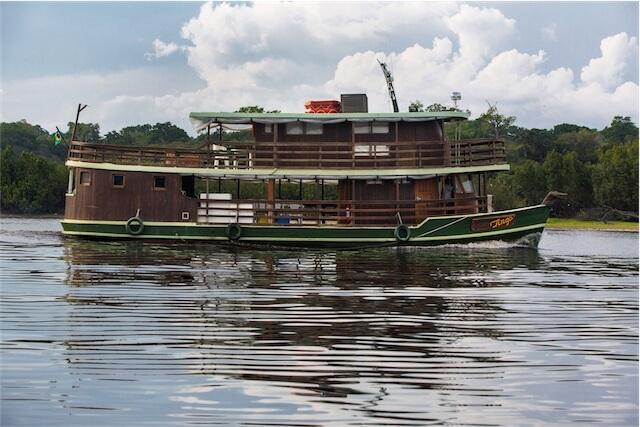 Jacare Tinga Amazon Riverboat