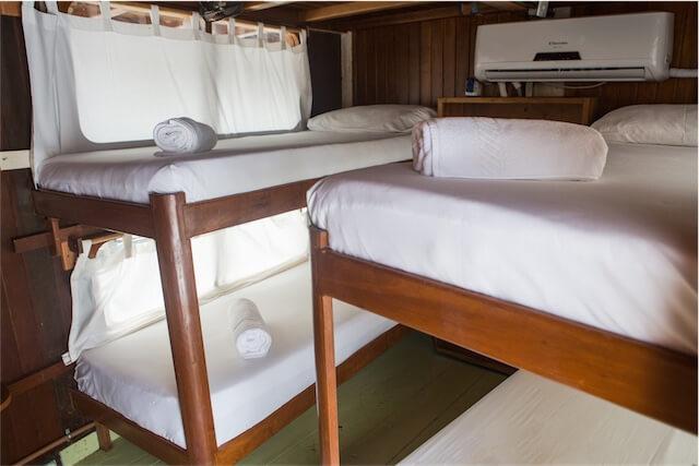 Jacare Tinga Cruise Cabins
