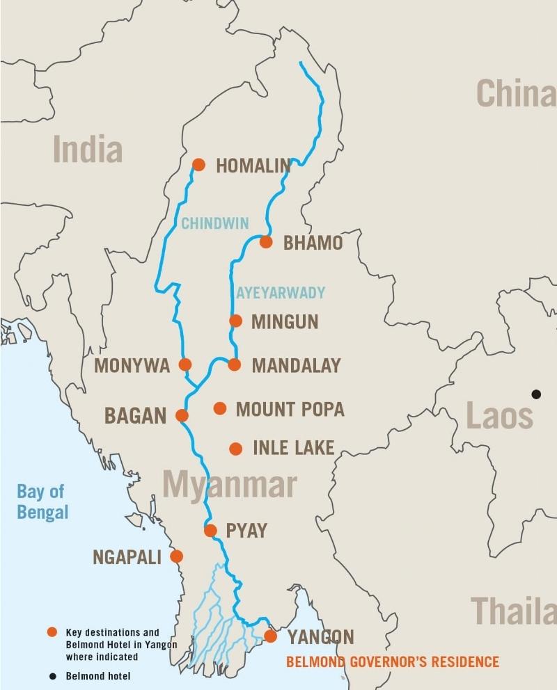 Road to Mandalay 3Day Cruise Bagan Mandalay Itinerary