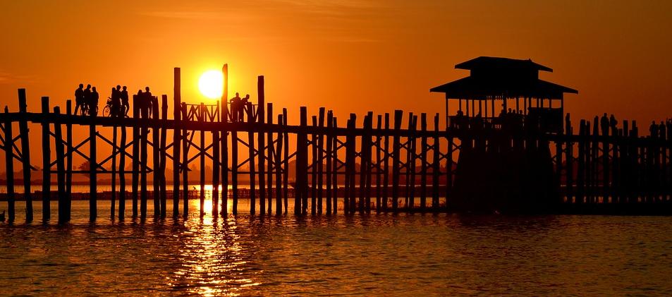 U Bein Bridge Burma