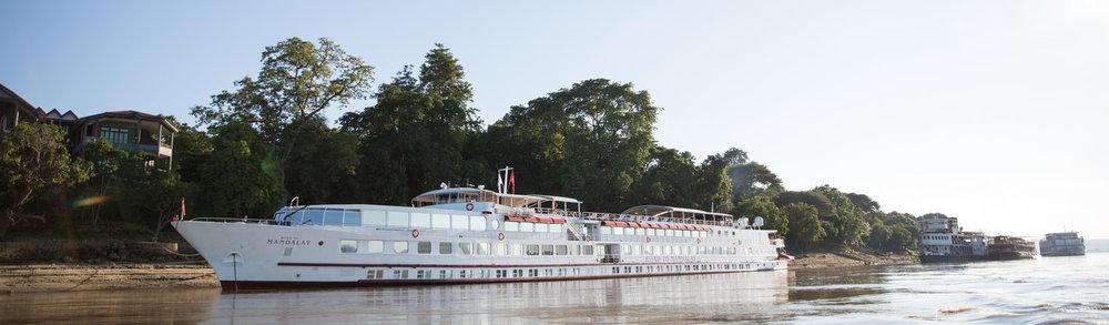 Mandalay Cruise Itinerary