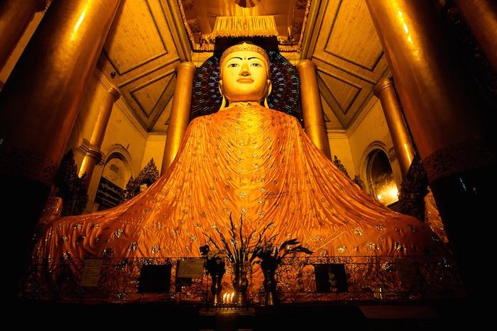 Where is Shwedagon Pagoda?