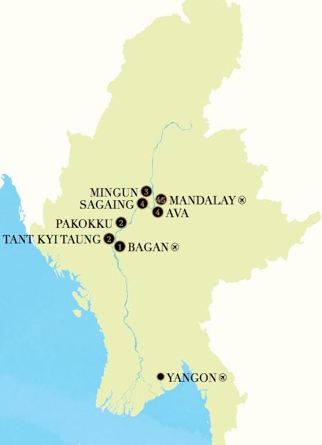 The Strand Cruise Day Bagan To Mandalay Itinerary Rainforest - 5 day cruises